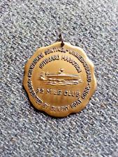Vintage Lake Winnebago Marathon 92 Mile Club Dunphy Outboard Boat Race Medal