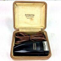 1950s Remington Foursome Electric Shaver Model W in the Original Box w Cord USA