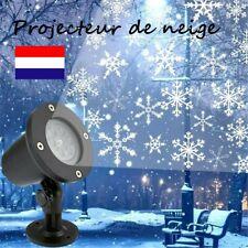 LED Projecteur Laser Lumière Flocon de Neige Déco Noël Fête Effet Spot FR
