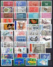 FRANCE-Tous les EUROPA 1960 à 2001 (en francs) 78 timbres neufs** sous faciale