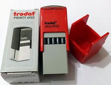 Trodat Printy 4922 with Bottom Cover Custom Make Text & Logo Stamp 19x19mm