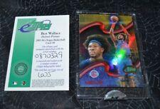 2005 ETOPPS BASKETBALL BEN WALLACE DETROIT PISTONS CARD IN HAND