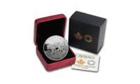 Cougar Atop Mountain 1 oz Silver Coin