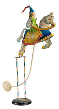"Antiqued Medieval Princess 18.5"" Sky Hook Tetter Totter Tin Metal Balance Toy"
