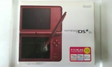Nintendo DSi LL (Wine Red) Console JP