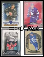 2020-21 UD Tim Hortons Hockey Inserts U PICK Flat Ship 75c/Card SEE DESCRIPTION