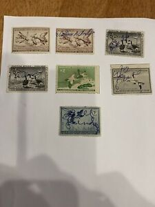 us duck hunting stamps Nice Lot