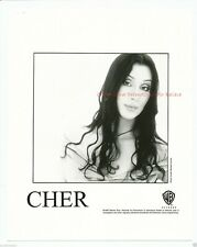 """Cher Warner Promotional for Believe 8"""" x 10"""" Black & White Photo 1998-#177"""