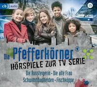 DIE PFEFFERKÖRNER - 4 HÖRSPIELE ZUR TV SERIE (STAFFEL 15)  2 CD NEW