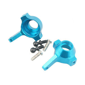 RC HSP 580023 Blue Aluminum Steering Hub L/R Arm 2P 1:18 Buggy Truck Up Parts