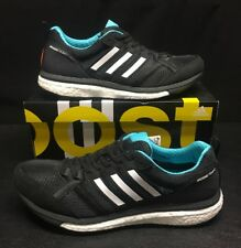 🔥$140 Adidas ADIZERO Tempo 9 Boost Running Shoes 10 adios 9.5 black ultra Aktiv