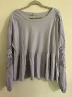 Free People Penny Top Lilac Size S