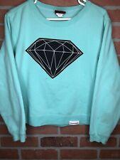 Diamond Supply Co Tiffany Blue Crewneck Sweatshirt Size Small