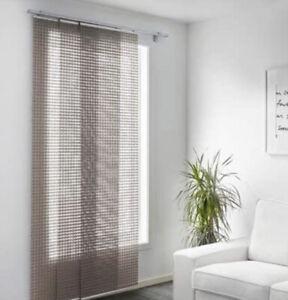 IKEA Ingamaj Panel Curtain Grey Woven Design 24 X 118 NIB