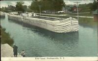 Durhamville NY Erie Canal 1911 Used Postcard