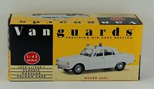 Vanguards Rover 2000 Police car in white. VA27001 Excellent & Boxed