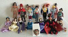 Deagostini Disney Princess & Prince,s  Porcelain Collectable Doll Bundle x 24