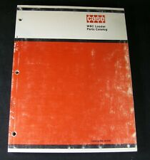 CASE W8C Wheel Loader Tractor Parts Manual Book Catalog List OEM