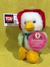 Kenner Vintage Strawberry Shortcake GOOSEBERRY Goose Plush Stuffed Animal