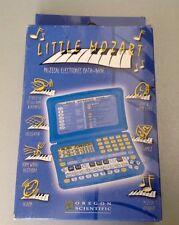 Vintage Console Handheld Game & Watch Little Mozart Oregon Scientific#Dm