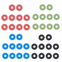10pcs Strap Locks Pads Rubber Washers for Acoustic Guitar Bass Parts Accessories