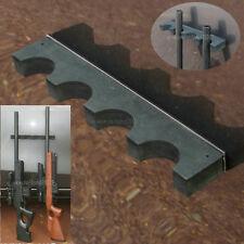 Magnetic Barrel Rest Mount for 4 Rifles Gun Safe Organizer Storage Solution