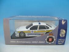 C2466 Scalextric Ultra Raro Jersey coche de policía, menta en caja