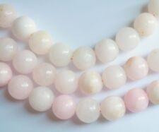 Pink Hemimorphite beads 14mm. Genuine gemstone beads. Healing stone, 8''