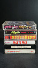 Lot of 6 Punk Alternative Indie Rock Cassettes