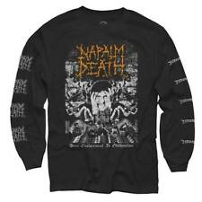 Napalm Death FROM ENSLAVEMENT TO OBLITERATION LONG SLEEVE SHIRT w Print Medium M