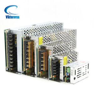 DC 5V 12V 24V Power Supply Driver Adapter for LED Strip Light AC 110V-220V