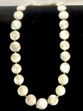 Baroque Coin Pearl Necklace #949