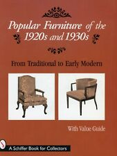 1920s / 1930s Modern Furniture – Models Dates Dimensions Etc / Book + Values