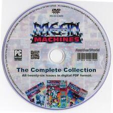 MEAN MACHINES Magazine Collection on Disk (Nintendo NES & Sega Mega Drive Games)