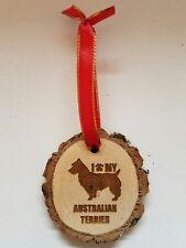 I Love My Australian Terrier Dog Ornament Pet Lover Keepsake Gift Christmas