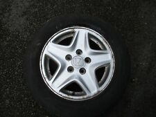 HONDA STREAM  ALLOY WHEEL 15 INCH WITH GREAT TYRE 195 65 R15 2005-2008 FREE P&P