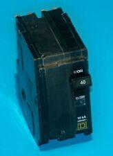 New Listingqo240 Square D 40 Amp 240 Volt 2 Pole Plug On Breaker