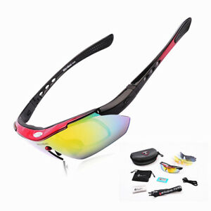 Polarized Sunglasses Men Sports Bicycle Bike Cycling Driving Skiing Goggles