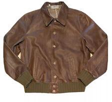 Levi's Vintage Clothing Strauss Leather Jacket - XL