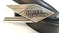 Harley-Davidson Leather Belt With Buckle 38 Inch