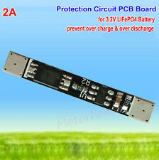 2A 3.2v PCB PCM Protection Circuit Board Module for 1S LiFePO4 Battery BMS cell