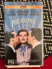 THE PHILADELPHIA STORY SPECIAL EDITION JAMES STEWART BRAND NEW PAL VHS VIDEO