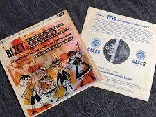 RARE SXL 2275 Bizet Symphony, Jeux etc Ansermet UK First Decca ED1 WBG LP NM/EX
