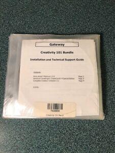 Gateway Creativity 101 Bundle - Creatacard 4 Special Edition ~ Print Artist 12.0
