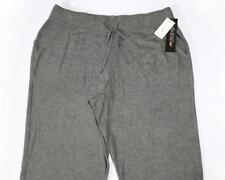 LP262 Ideology Women's Plus Pewter Drawstring Fleece Pants NWT Size 1X X 32