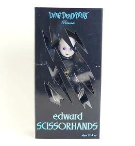 Living Dead Dolls Edward Scissorhands Sealed RARE Limited Edition LDD Horror NIB
