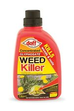 Doff Advanced Concentrated Weedkiller Maximum Strength Glysophate weeds, roots,