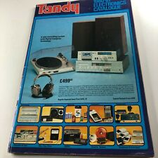 More details for 1980-81 tandy electronics catalogue vintage electronic equipment advertising