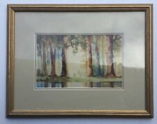 Alex Kerr  Framed Watetcolour Painting