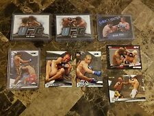 (8) UFC card lot ST-PIERRE, Anderson Silva, Urijah Faber, Rampage, Aldo, Penn